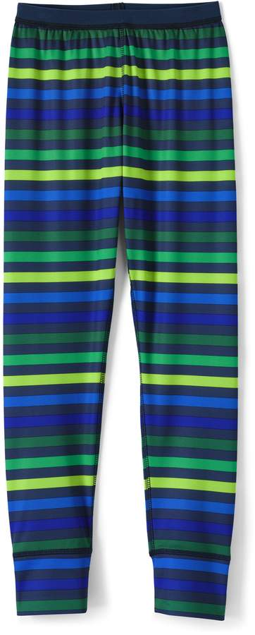 Lands'end Boys Thermaskin Heat Print Pants