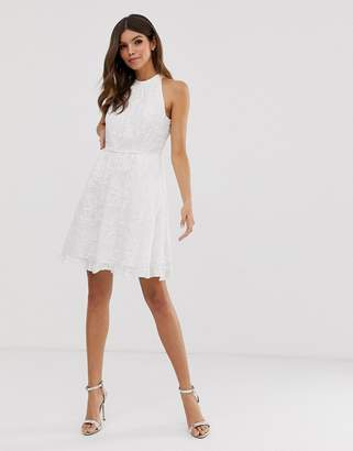 Ted Baker Iorene embroidered skater dress
