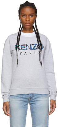 Kenzo Grey Paris Sweatshirt