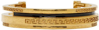 Versace Gold Greek Cuff Bracelet