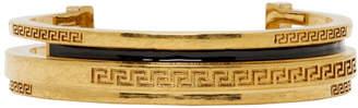 Versace Gold Greek Cuff Bracelet