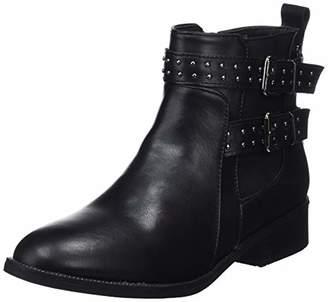 Xti Women's 48620 Ankle Boots, Black Negro
