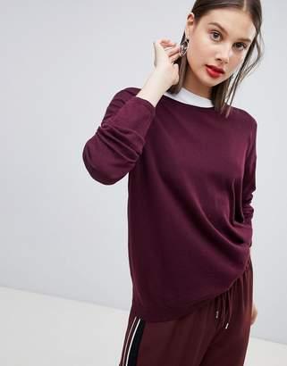 Esprit Oversized Round Neck Lightweight Sweater