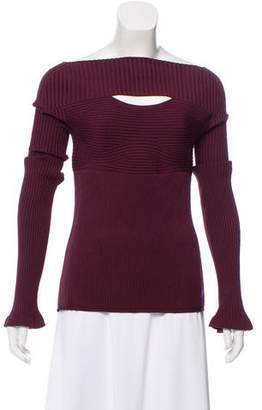 Cushnie et Ochs Long Sleeve Knit Sweater