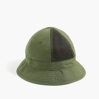 J.Crew Mesh paneled bucket hat