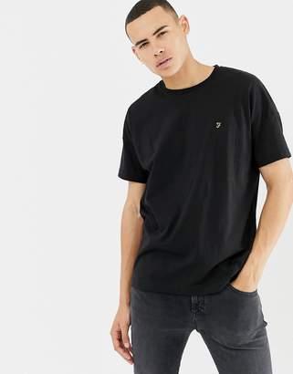 Farah Frankie oversized t-shirt in black