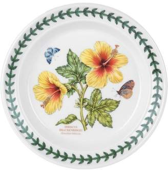 Portmeirion Exotic Botanic Garden Bread and Butter Plate with Hibiscus Motif by USA