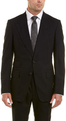 Tom Ford 2Pc Wool Suit With Pleated Pant