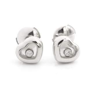 Chopard Happy Diamonds Silver White gold Earrings