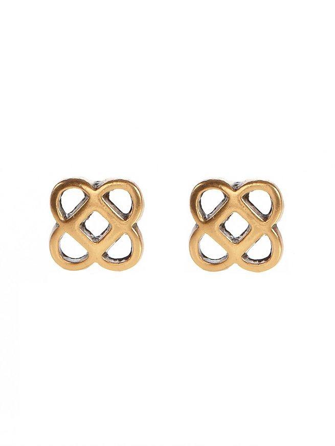 Oscar de la Renta Tailored Mosaico Earring