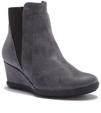 Geox Donna Amelia Stival Suede Wedge Bootie