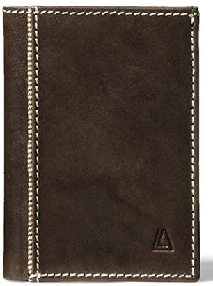 Leather Architect Men's 100% Leather Card Holder with RFID Blocking