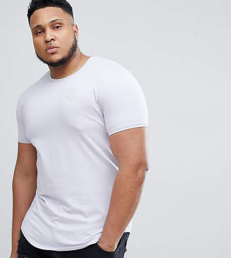 SikSilk Muscle T-Shirt In Pastel Purple Exclusive to ASOS