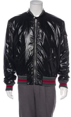 Gucci Web Bomber Jacket