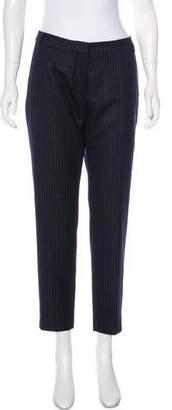 Dries Van Noten Mid-Rise Wool Pants