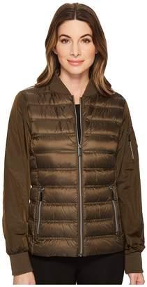 MICHAEL Michael Kors Zip Front Bomber Packable M823220F Women's Coat