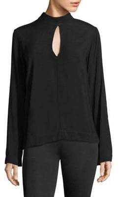 Bella Dahl Mockneck Long-Sleeve Top