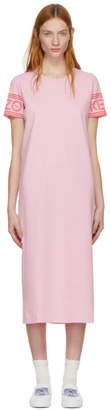 Kenzo Pink Sport Midi T-Shirt Dress