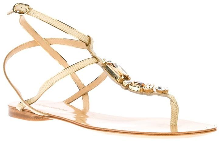 Dolce & Gabbana Embellished sandal