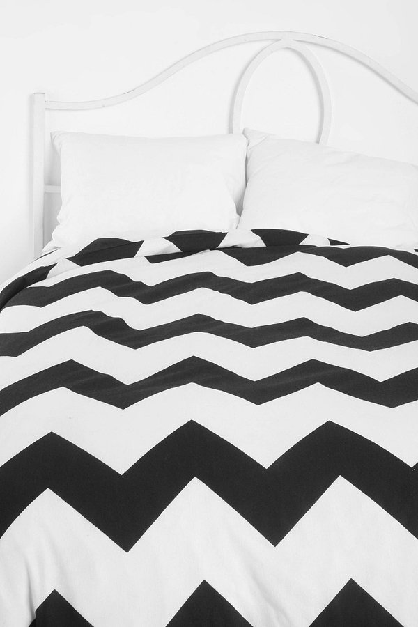 Urban Outfitters Zigzag Duvet Cover