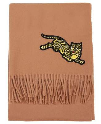 Kenzo Jumping Tiger Scarf Colour: BEIGE, Size: One Size
