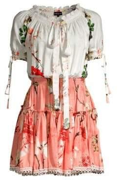 DAY Birger et Mikkelsen Hemant & Nandita Almora Floral Peasant Dress