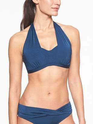 Athleta Aqualuxe Molded Bra Cup 2 Way Bikini Top