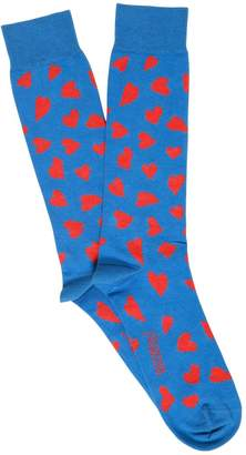 J.W.Anderson Hearts Cotton Intarsia Knit Socks