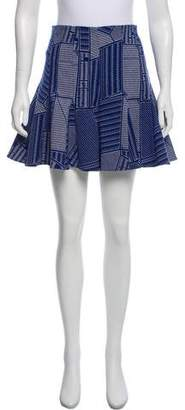 Opening Ceremony Flared Patterned Shorts