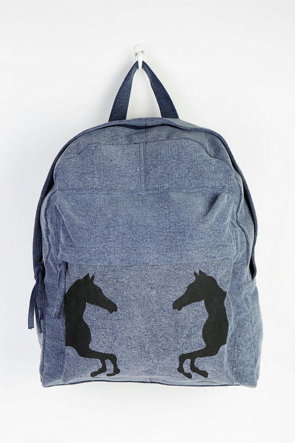 Urban Outfitters Ecote Horse Shadow Backpack
