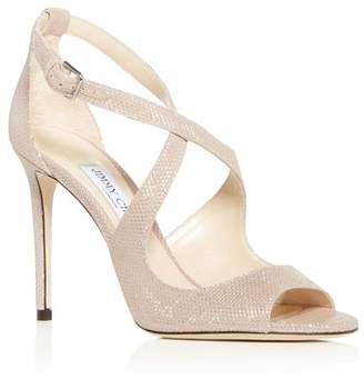 07f0a31d748f Jimmy Choo Women s Emily 100 Crisscross High-Heel Sandals