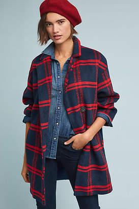 Eva Franco Dean Plaid Coat