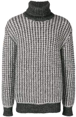 Ermenegildo Zegna chunky knit turtleneck sweater