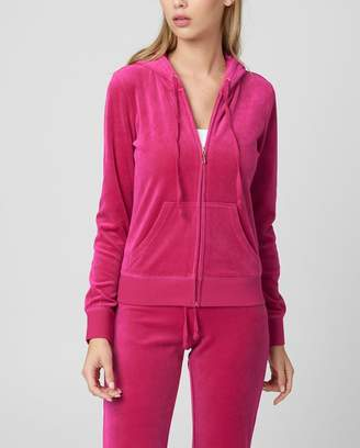 Juicy Couture JC Cameo Velour Robertson Jacket