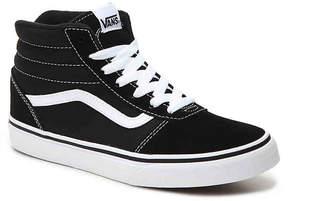 Vans Ward Toddler & Youth High-Top Sneaker - Boy's
