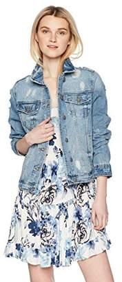 Silver Jeans Co. Women's Sinclair Vintage Style Denim Jacket