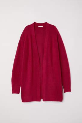 H&M Knit Wool-blend Cardigan - Pink