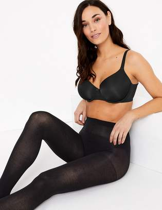 c6863385e69 AutographMarks and Spencer 40 Denier Fine Cotton Tights
