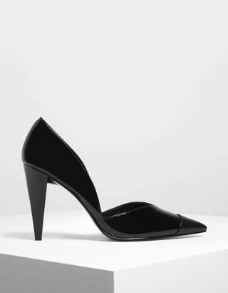 Charles & Keith Pointed Toe D'Orsay Pumps