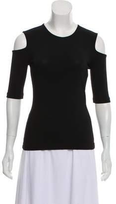 Rag & Bone Cold-Shoulder Blouse
