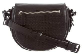 Rebecca Minkoff Astor Laser Cut Saddle Bag
