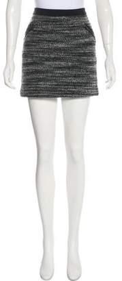 Rebecca Taylor Textured Mini Skirt
