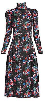 Marc Jacobs Women's The 40s Floral Dress