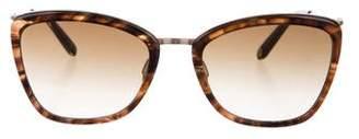 Garrett Leight Gradient Square Sunglasses