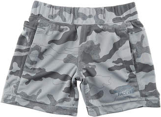 The North Face Mak Jersey Camo Shorts, Size 2-4T