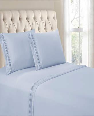 Hudson Cathay Home Inc. & Main Arrow Pleated Hem 3 Pieces Twin Sheet Set Bedding