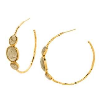 Gorjana Havana Labradorite Hoop Earrings