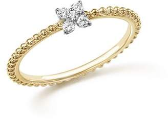 Bloomingdale's Diamond Cluster Beaded Ring in 14K Yellow Gold, .10 ct. t.w. - 100% Exclusive