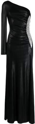 Christian Pellizzari one-shoulder gown