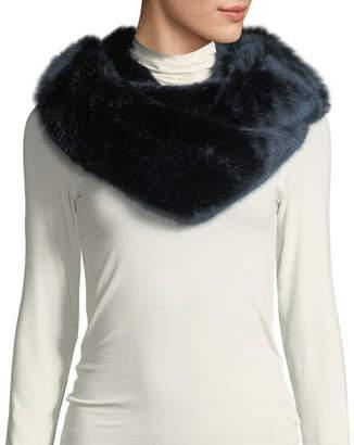 Fabulous Furs Oversized Eternity Faux-Fur Scarf